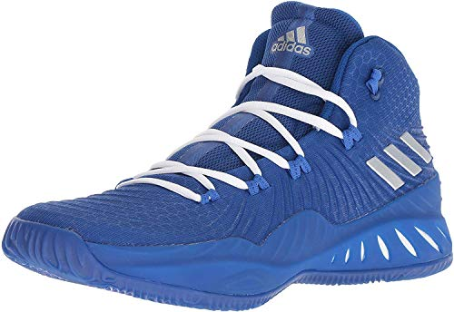 Adidas Crazy Explosive 2017 Shoe Men's Basketball 12.5 Collegiate Royal-Silver Metallic-Blue