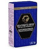 Beo Hive Café Molido, Cafe Descafeinado Intenso Molido, 250 g, Aromático y de Tueste Natural, Café Descafeinado Molido, Sabor Intenso, Café Seleccionado