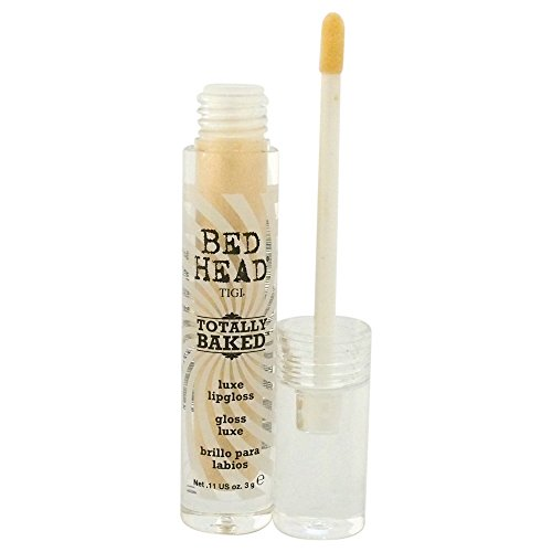 TIGI Bed Head Luxe Lip Gloss for Women, Totally Baked, 0.11 Ounce