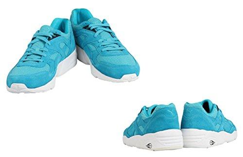 PUMA Men's R698 Allover Suede Fashion Sneaker