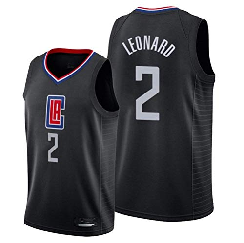 xisnhis Camisetas NBA,Camiseta de Baloncesto para Hombre,Mujeres Jersey Hombre - NBA Clippers # 2 Leonard Jerseys Transpirable Bordado Baloncesto Swingman Jersey(TAMAÑO: S-XXL)