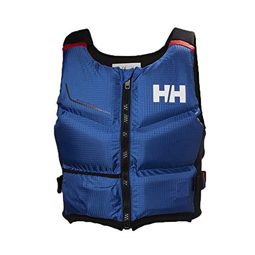 Helly Hansen 50N Rider Stealth Zip PFD Ayuda de Compra - Dispositivo de flotación de Seguridad en el Agua para Deportes acuáticos Olympian Blue - Unisex