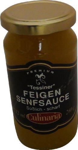 Culinaria Tessiner Feigen Senfsauce Süßlich scharf 260g