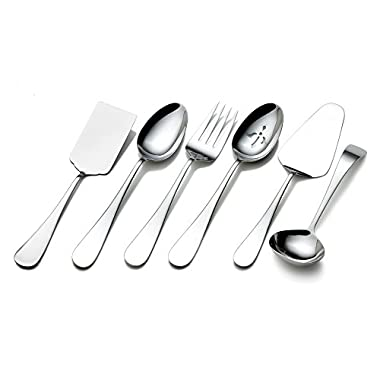 Towle Living 5072433 Basic 6-Piece Stainless Steel Hostess Set
