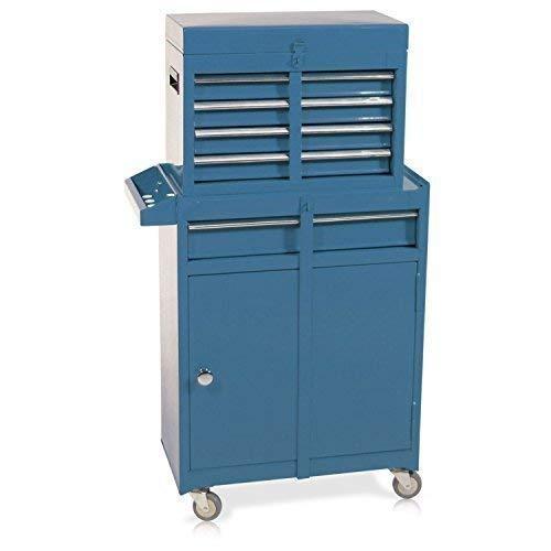Werkzeugwagen mit Aufsatz S10 blau