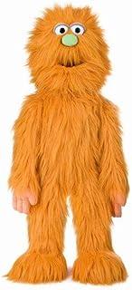 "30"" Orange Monster Puppet, Full Body Ventriloquist Style Puppet"