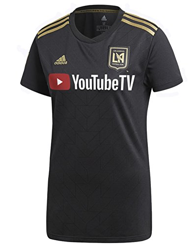 adidas 2019 Women's LAFC Home Jersey (Black/Gold) (L)