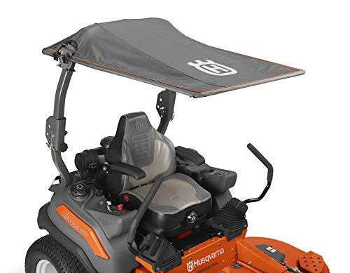 Husqvarna Zero Turn Sun Canopy Riding Mower Accessories, Orange/Gray