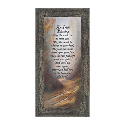 Irish Blessing Wall Decor, May The Road Rise Up to Meet You, Celtic Decor Home Blessing Sign, Irish Gifts for Women. Irish Wall Decor, House Warming Presents for New Home 7786BW