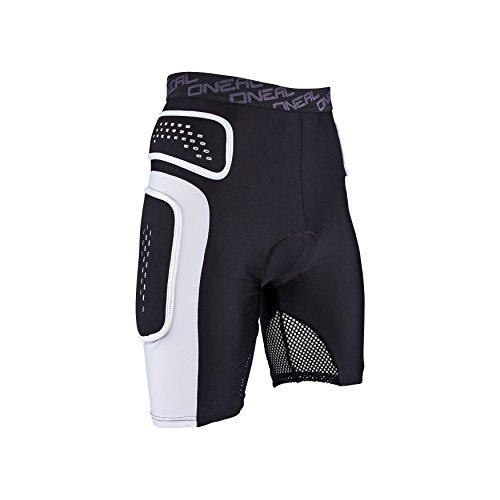 O'Neal Pro Protektoren Hose Schwarz Weiß Mountain Bike Sport Freizeit Shorts, 1286, Größe Medium