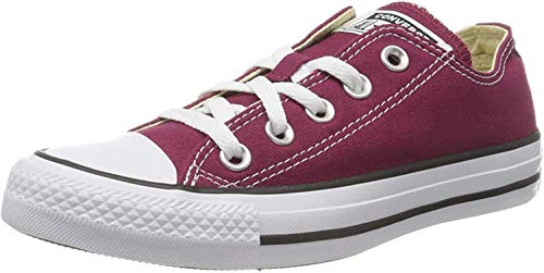 Converse Chuck Taylor All Star Ox, Zapatillas Unisex Adulto, Rojo Burgundy M9691c,...