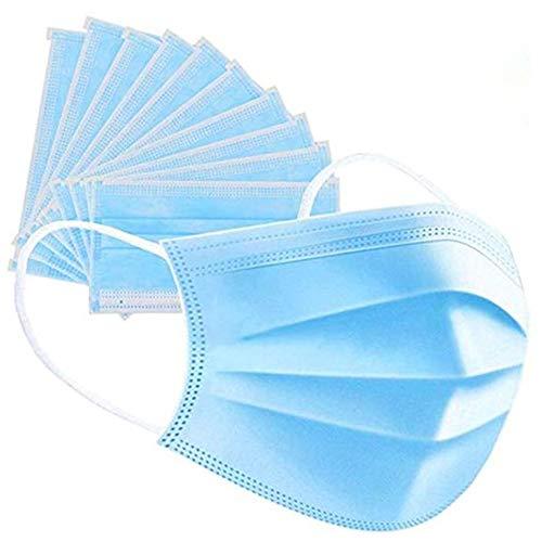 Dadeldo® Maske Mundschutz Einweg 3-Lagig 10 Stück