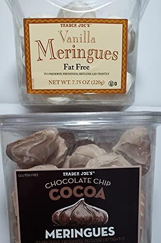 Trader Joes Vanilla and Chocolate Meringue Bundle