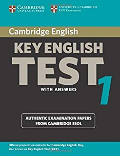 Cambridge Key English Test 1 Student's Book with Answers: Examination Papers from the University of Cambridge ESOL Examina...