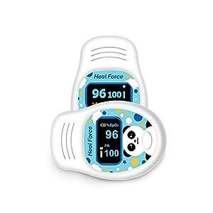 Monitor Di Saturazione Di Ossigeno, Monitor Di Saturazione Di Ossigeno Nel Sangue Per Frequenza Del Polso E Livello Di SpO2, Pulsossimetro Portatile Con Ampio Display a LED Per Bambini Adulti