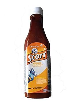 Emulsion de Scott  Sabor Tradicional  180 Ml