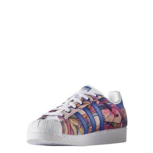 adidas Originals Zapatillas Superstar W para Mujer, Color Azul, Talla 40 EU