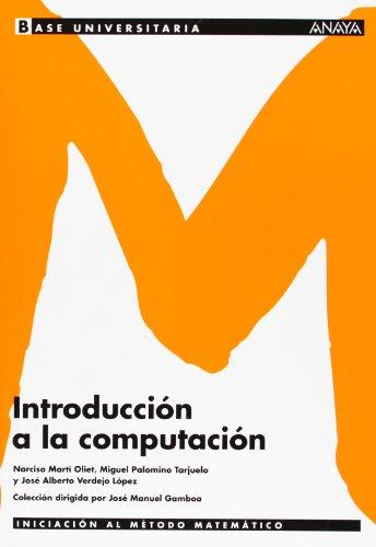 Introducción a la computación. (Base Universitaria)