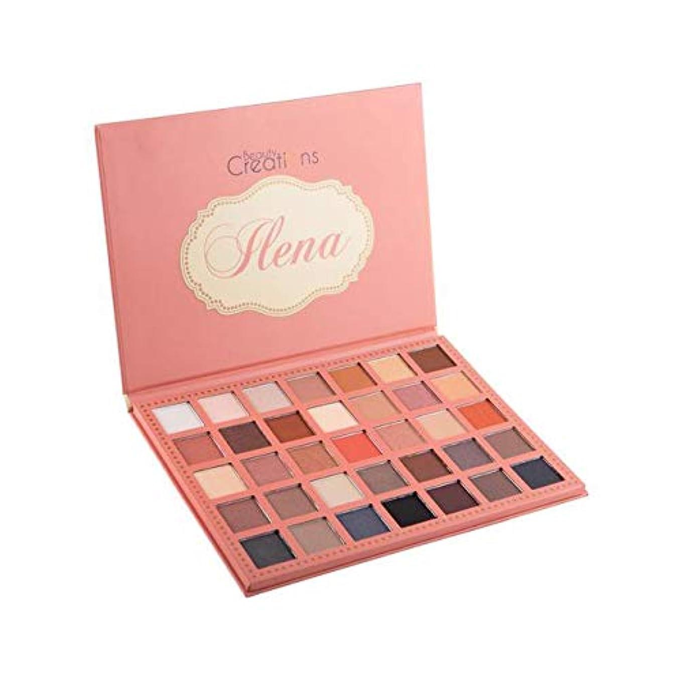 どこでも侵入貫通する(3 Pack) BEAUTY CREATIONS 35 Color Eyeshadow Palette - Ilena (並行輸入品)