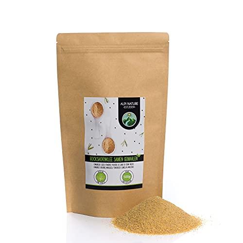 Fenogreco en polvo (500g), molido de fenogreco, 100% natural, semillas de fenogreco como polvo, sin aditivos, vegano, semillas de fenogreco molidas