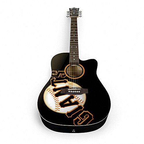 The Sports Vault MLB San Francisco Giants ACMLB24Acoustic Guitar, Multi, One Size