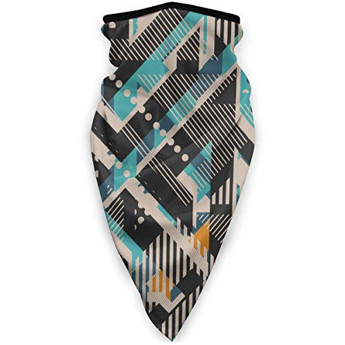 Urban Windproof Face Guard, geometrisch naadloos patroon Magic sjaal, nieuw 16-in-1 hoofddeksels voor gym hardlopen