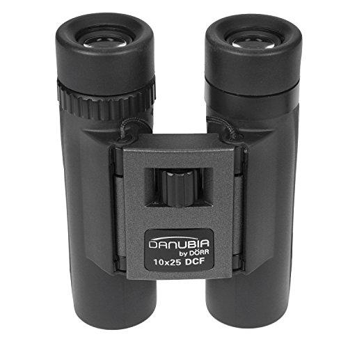 Danubia 40 10x25 Pocket Verrekijker - Zwart/Grijs