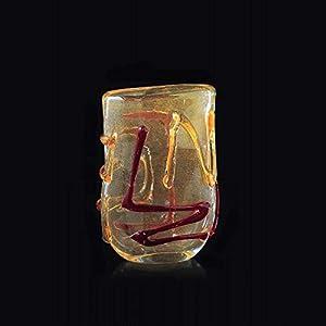 Arte de Murano jarrón de cristal de Murano, glass, Multicolor, pequeña