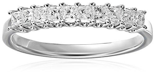Princess-cut Diamond Band