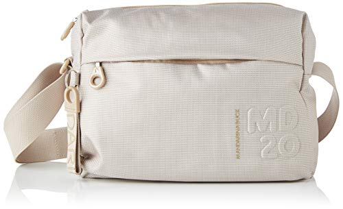 Mandarina Duck Md20 Tracolla, Bolsa de mensajero para Mujer, Beige (Irish Cream), 10x21x28.5 Centimeters (W x H x L)
