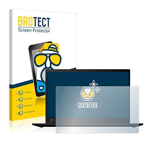 BROTECT Entspiegelungs-Schutzfolie kompatibel mit Lenovo ThinkPad X1 Carbon (7. Generation) Bildschirmschutz-Folie Matt, Anti-Reflex, Anti-Fingerprint