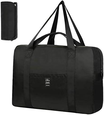 VBG VBIGER Travel Duffle Bag Foldable Sport Duffle Nylon Luggage Bag Duffle Tote Bag 35L with product image
