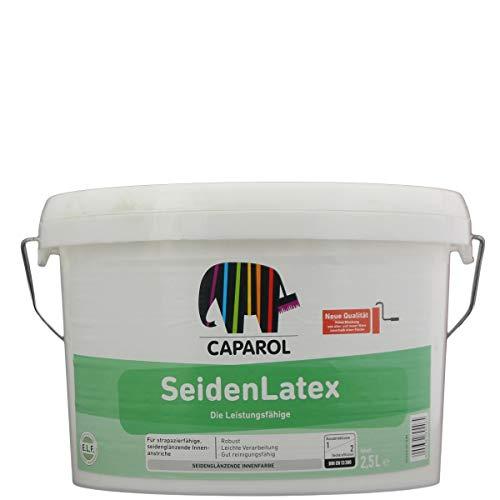 Caparol Seidenlatex Weiß, 2,5L