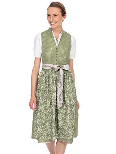 Stockerpoint Damen Natalia Dirndl, Mehrfarbig (Schilf Schilf), (Herstellergröße: 38)