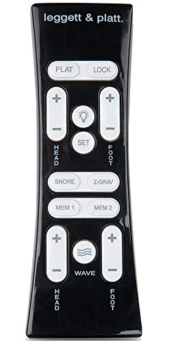 Leggett & Platt Adjustable Bed Replacement Remotes, All Models and Styles (S-Cape 2.0 or Simplicity 3.0)