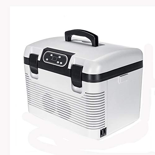 NXYJD 19L del Coche Refrigerador Freeze Calefacción Nevera Compresor Enchufe de Picnic Refrigeración Calefacción