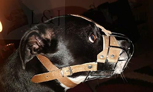 L&J Pets Uk Maulkorb für Hunde, Staffordshire Bullterrier Staffy, Staffie