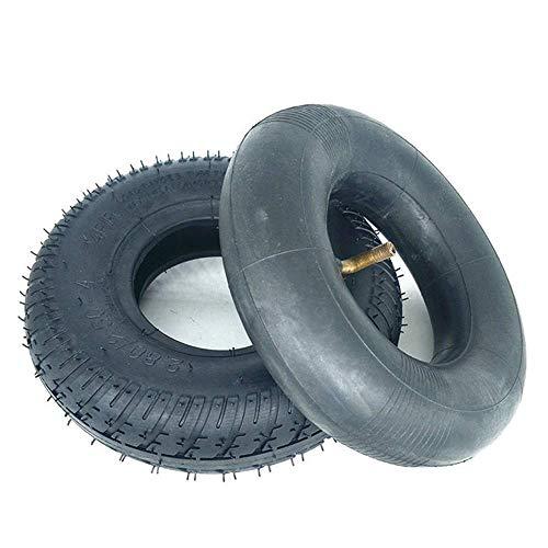 KTDT Neumáticos para Scooter eléctrico, neumáticos internos y externos de 2.80-2.50-4, Caucho de Alta Elasticidad, Antideslizante y Resistente al Desgaste, Accesorios para neumáticos de Scooter p