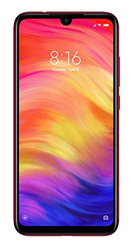 Xiaomi Redmi Note 7 Dual SIM 64GB 4GB RAM Nebula Rojo (Asian Version)