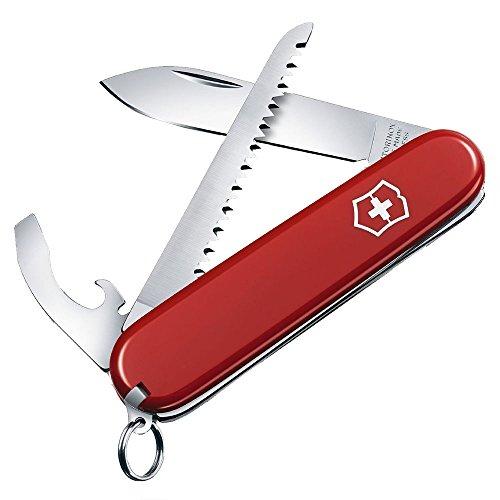 Victorinox Taschenmesser Walker (9 Funktionen, Kombi-Klinge, Grosse Klinge) rot