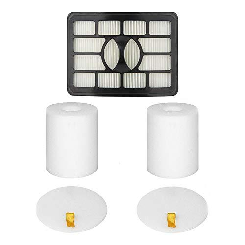 Juego de filtros de espuma y fieltro para Shark Rotator Pro Lift-Away NV500 series NV500, NV500CO, NV500W, NV501, NV502 SMTHOME