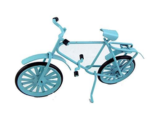 Melody Jane Poupées Miniature Accessoire Jardin 1:16 ou Enfant 1:12 Bleu Vélo