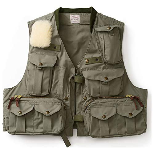 Filson Fly Fish Guide Vest - Groen (M)