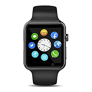 Fashion Shopping 321OU Smart Watch Compatible iOS Android iPhone Samsung for Men Women, Make/Answer Calls, Checking Messages Support…