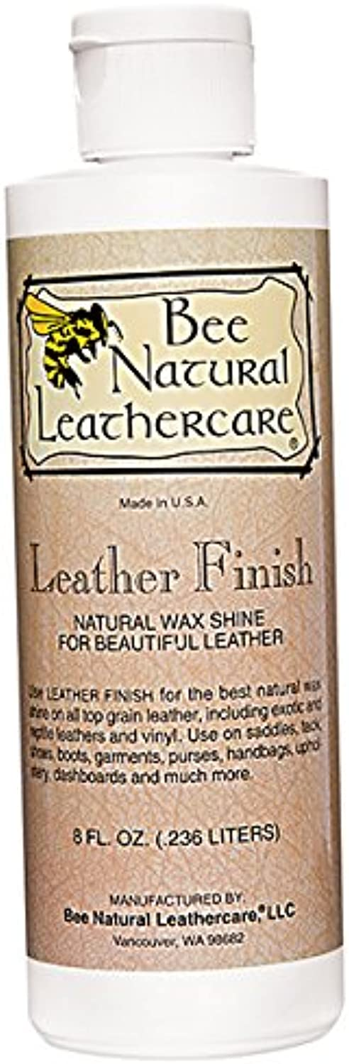 Bee Natural Leather Finish, Neutral, 8 oz