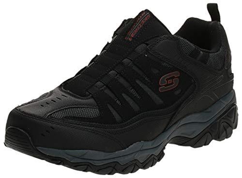 Skechers Sport Men's Afterburn M. Fit Wonted Loafer,black/charcoal,11 M US