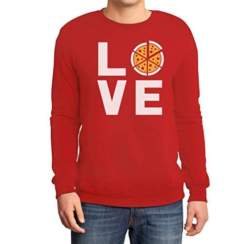 Love Pizza - cadeau-idee voor pizza fans sweatshirt