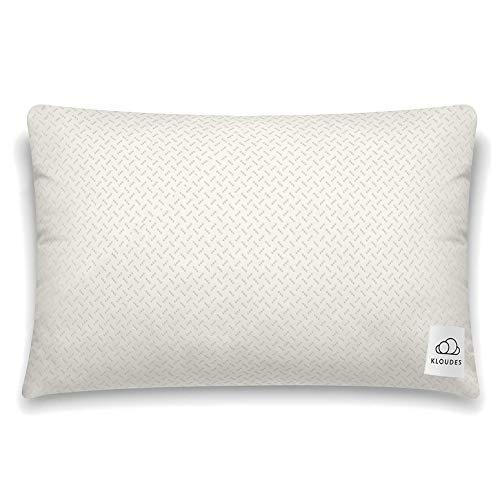 KLOUDES Adjustable Pillow | Best Pillows for Sleeping | Helps Reduce Neck & Shoulder Pain During Sleep CertiPUR-US Certified Safe Memory Foam (Standard)