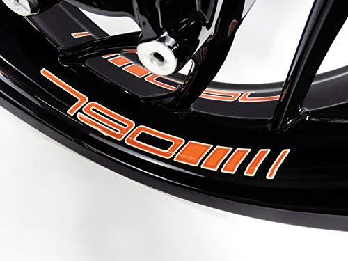 Bike Label 790078 Felgenbett-Aufkleber kompatibel für KTM 790 Duke und Adventure