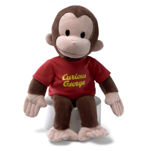 GUND Curious George Stuffed Animal...